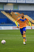 Jordan Bowery of Mansfield Town (9) during the The FA Cup match between Mansfield Town and Dagenham and Redbridge at the One Call Stadium, Mansfield, England on 29 November 2020.