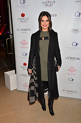 ***UK_MAGAZINES_OUT***<br /> <br /> LONDON, ENGLAND 29 NOVEMBER 2016: Cheryl at the Fayre of St James's hosted by Quintessentially Foundation and the Crown Estate in aid of Cheryl's Trust in support of The Prince's Trust held at St.James's Church, Piccadilly, London, England. 29 November 2016.