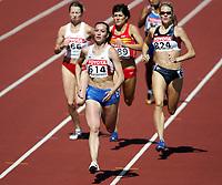 Friidrett, 6. august 2005, VM Helsinki, <br /> World Championship in Athletics<br /> Tatyana Andrianova, RUS, 800 metres