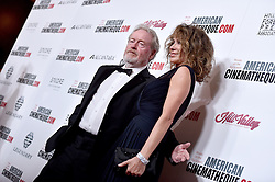 Ridley Scott and Giannina Scott attend the 30th Annual American Cinematheque Awards Gala at The Beverly Hilton Hotel on October 14, 2016 in Beverly Hills, California. Photo by Lionel Hahn/AbacaUsa.com