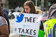 Tax Day Trump Protest