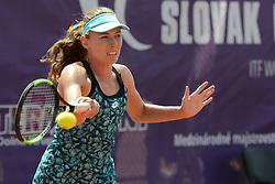 May 19, 2018 - Trnava, Slovakia - EKATERINA ALEXANDROVA of Russia in her semifinal match in the Empire Slovak Open tennis tournament in Trnava Slovakia (Credit Image: © Christopher Levy via ZUMA Wire)