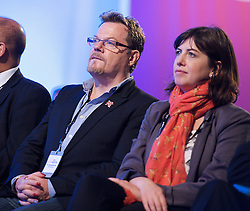 (L) Eddie Izzard during the Labour Party Annual Conference in Manchester, Great Britain, September 30, 2012 Photo by Elliott Franks / i-Images.