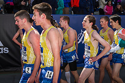 BAA Invitational Miles, High School Boys Mile race,