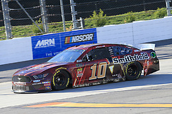March 23, 2019 - Martinsville, VA, U.S. - MARTINSVILLE, VA - MARCH 23:  #10: Aric Almirola, Stewart-Haas Racing, Ford Mustang SHAZAM! / Smithfield during practice for the STP 500 Monster Energy NASCAR Cup Series race on March 23, 2019 at the Martinsville Speedway in Martinsville, VA.  (Photo by David J. Griffin/Icon Sportswire) (Credit Image: © David J. Griffin/Icon SMI via ZUMA Press)