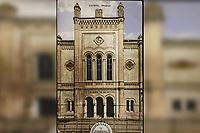 Zagreb : Sinagoga <br /> <br /> ImpresumZagreb : Rudolf Polaček, [ca 1915].<br /> Materijalni opis1 razglednica : tisak ; 13,8 x 8,8 cm.<br /> NakladnikRudolf Polaček<br /> Mjesto izdavanjaZagreb<br /> Vrstarazglednice<br /> ZbirkaGrafička zbirka NSK • Zbirka razglednica<br /> ProjektPozdrav iz Hrvatske<br /> Formatimage/jpeg<br /> PredmetZagreb –– Praška ulica<br /> Jezikhrvatski<br /> SignaturaRZG-PRA-6<br /> Obuhvat(vremenski)20. stoljeće<br /> NapomenaRazglednica nije putovala.<br /> PravaJavno dobro<br /> Identifikatori000921700<br /> NBN.HRNBN: urn:nbn:hr:238:789645 <br />  <br />  <br /> <br /> Izvor: Digitalne zbirke Nacionalne i sveučilišne knjižnice u Zagrebu