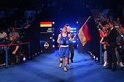 Boxen: AIBA Box-WM, Day 5, Hamburg, 29.08.2017<br /> 60 Kg: Lazaro Alvarez Estrada (CUB, red) - Murat Yildirim (GER, blue)<br /> © Torsten Helmke