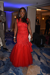 Tessa Sanderson at the Chain of Hope Gala Ball held at the Grosvenor House Hotel, Park Lane, London England. 17 November 2017.<br /> Photo by Dominic O'Neill/SilverHub 0203 174 1069 sales@silverhubmedia.com
