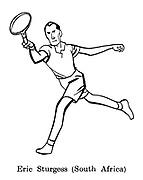 Sorry, No Croquet ; Wimbledon tennis<br /> Eric Sturgess ( South Africa )