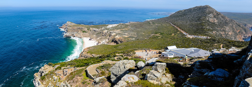 The Cape of Good Hope  on the Atlantic coast of Cape Peninsula, South Africa. Panorama.