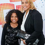 NLD/Rotterdam/20110925 - Premiere Daddy Cool, Aliyah Kolf en haar moeder