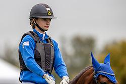 Corten Britt, BEL, Funny SPot<br /> Nationaal Kampioenschap LRV Ponies <br /> Lummen 2020<br /> © Hippo Foto - Dirk Caremans<br /> 27/09/2020
