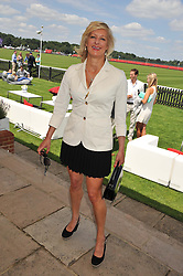 ALISON JACKSON at the Audi International Polo Day held at Guards Polo Club, Smith's Lawn, Windsor on 22nd July 2012.