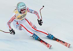 21.01.2011, Tofana, Cortina d Ampezzo, ITA, FIS World Cup Ski Alpin, Lady, Cortina, SuperG, im Bild Marie Marchand-Arvier (FRA, #9) // Marie Marchand-Arvier (FRA) during FIS Ski Worldcup ladies SuperG at pista Tofana in Cortina d Ampezzo, Italy on 21/1/2011. EXPA Pictures © 2011, PhotoCredit: EXPA/ J. Groder