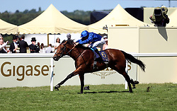 Old Persian ridden by jockey William Buick wins the King Edward VII Stakes during day four of Royal Ascot at Ascot Racecourse.