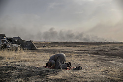 October 18, 2016 - Mosul, Iraq - NO SUBSCRIBTIONS ***..The battle of Mosul. Kurdish Peshmerga and Iraqi forces managed to retake Mosul from the Islamic State (IS) (Credit Image: © AftonbladetIBL via ZUMA Wire)