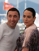 Sofian Khammes and Nailia Harzoune at the Chouf film photo call at the 69th Cannes Film Festival Monday 16th May 2016, Cannes, France. Photography: Doreen Kennedy
