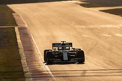 February 28, 2019 - Montmelo, BARCELONA, Spain - CATALONIA, BARCELONA, SPAIN, 28 February. #77 Valtteri BOTTAS driver of Mercedes AMG Petronas Racing during the winter test at Circuit de Barcelona Catalunya. (Credit Image: © AFP7 via ZUMA Wire)