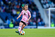 Christie Murray (#16) of Scotland on the ball during the International Friendly match between Scotland Women and Jamaica Women at Hampden Park, Glasgow, United Kingdom on 28 May 2019.