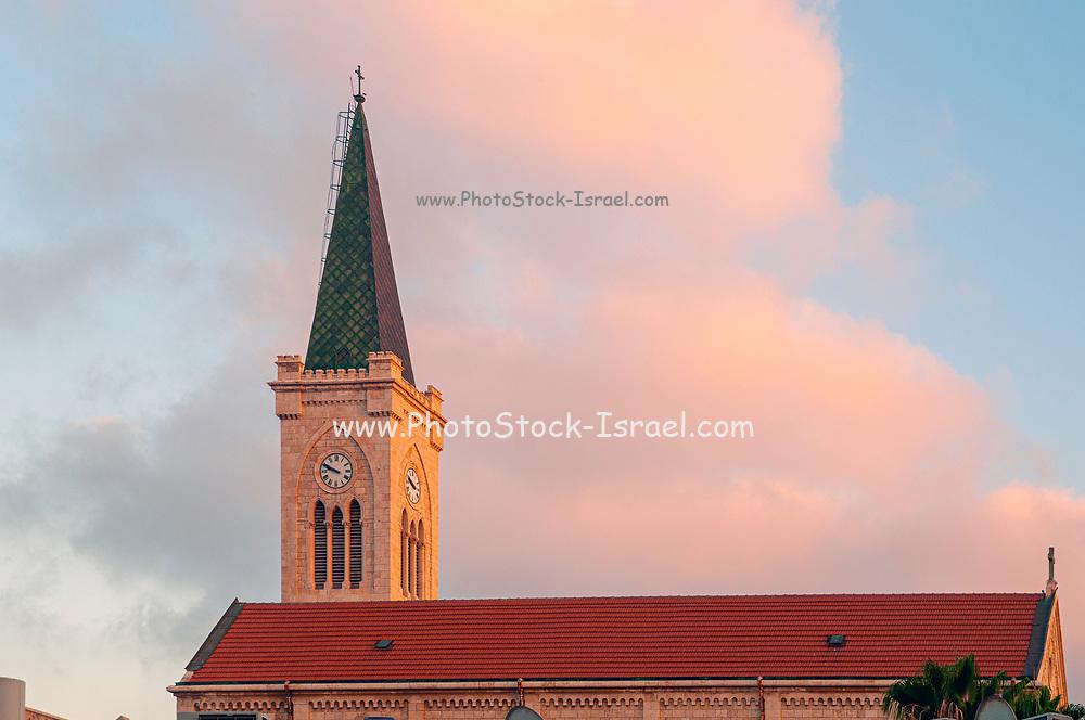 Terra Santa High School Catholic school, St. Anthony's Church, Jaffa, Israel