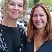 NLD/Amsterdam/20110731 - Premiere circus Hurricane met Hans Klok, Sara Kroos en partner