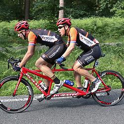 18-06-2017: Wielrennen: NK Paracycling: Montferlands-Heerenberg (NED) wielrennen<br />Bjorn Demas (Maastricht) en Stephan Lotz pakten brons op het NK tandem