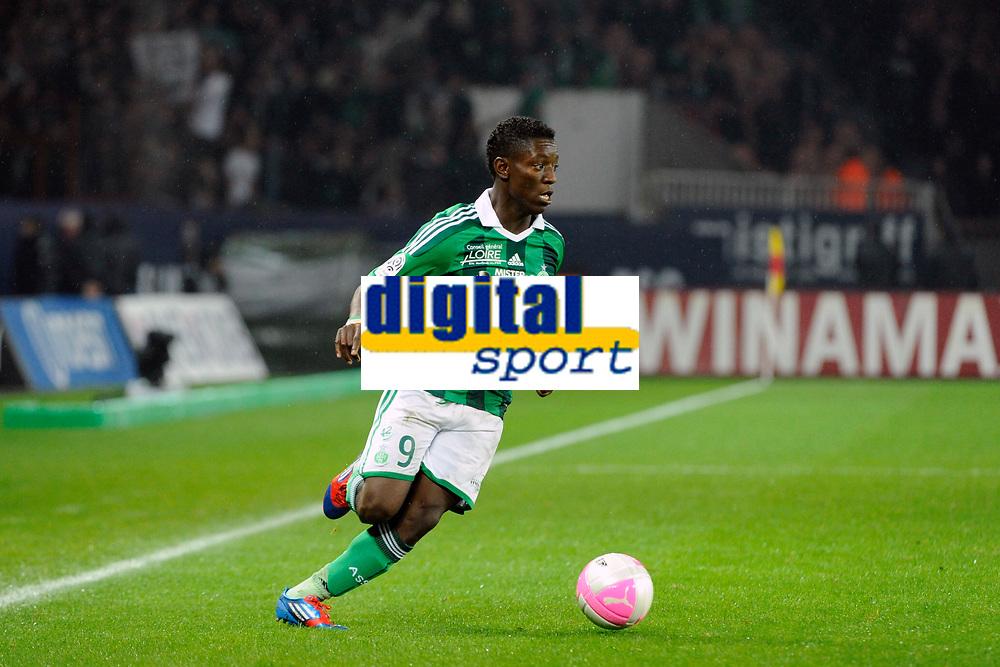 FOOTBALL - FRENCH CHAMPIONSHIP 2011/2012 - L1 - PARIS SAINT GERMAIN v AS SAINT ETIENNE - 2/05/2012 - PHOTO JEAN MARIE HERVIO / DPPI - MAX ALAIN GRADEL (ASSE)