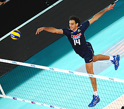 10-10-2010 VOLLEYBAL: FIVB 2010 WORLD CHAMPIONSHIP: ITALIA - SERBIA: ROME<br /> Alessandro FEI Italia<br /> ©2010-  Antonietta Baldassarre EXPA Insidefoto / +++++ ATTENTION - FOR NETHERLANDS CLIENT ONLY +++++ / WWW.FOTOHOOGENDOORN.NL PHOTO AGENCY