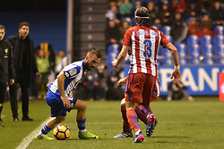 March 2, 2017 - La Coruna, Spain - olak and Filipe Luis. La Liga Santander Matchday 25. Riazor Stadium, La Coruna, Spain. March 02, 2017. (Credit Image: © Monica Arcay Carro/VW Pics via ZUMA Wire/ZUMAPRESS.com)
