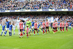 Ipswich and Sunderland players enter the pitch - Mandatory by-line: Arron Gent/JMP - 10/08/2019 - FOOTBALL - Portman Road - Ipswich, England - Ipswich Town v Sunderland - Sky Bet League One