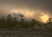 Phedang Trekkers Campsite- Early Snow