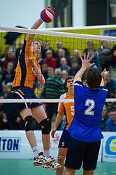 30-12-2010 VOLLEYBAL: ERMA CLASSIC NEDERLAND - LETLAND JONGENS: ALMELO<br /> Mark Held<br /> ©2010-WWW.FOTOHOOGENDOORN.NL / Peter Schalk