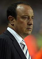 Photo: Paul Thomas.<br /> Liverpool v Newcastle United. The Barclays Premiership. 20/09/2006.<br /> <br /> Rafael Benitez, Liverpool manager.