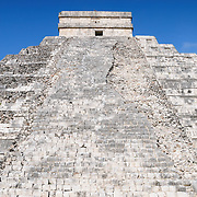 El Castillo (also known as Temple of Kuklcan) at the ancient Mayan ruins at Chichen Itza, Yucatan, Mexico 081216092402_4392.NEF