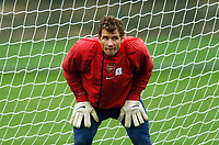 Photo: Javier Garcia/Digitalsport<br /> 01/11/2004 Arsenal Champions League Training, London Colney<br /> Jens Lehmann will be hoping for a clean sheet tomorrow night