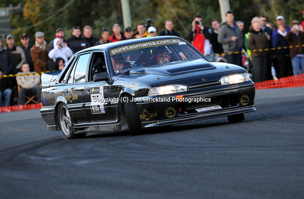 #717 - Adam Kaplan & David Kaplan - 1988 HSV Walkinshaw.Day 2.Targa Tasmania 2010.29th of April 2010.(C) Joel Strickland Photographics.Use information: This image is intended for Editorial use only (e.g. news or commentary, print or electronic). Any commercial or promotional use requires additional clearance.