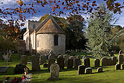 St Peter and St Paul Church and graveyard, Checkendon, Oxfordshire, United Kingdom