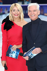 December 18, 2018 - London, United Kingdom - Holly Willoughby and Philip Schofield at the Dancing On Ice Launch Showcase at the Natural History Museum Ice Rink, Kensington, (Credit Image: © Keith Mayhew/SOPA Images via ZUMA Wire)