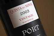 vintage nacional 2003 quinta do noval douro portugal