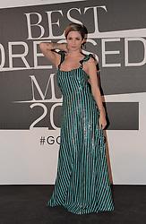 Andrea Delogu at the photocall of GQ Best Dressed Men 2019  Milan,Italy, 11 January 2019  (Credit Image: © Nick Zonna/Soevermedia via ZUMA Press)