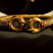 .London Nov 19 Importan new tresures finds announcement  at British Museum in London. The findings included a stunning Iron age  tore  made of combination of gold and silver  found by Mr Richardson in Newark . Valued at £350,000 is the most expensive  single treasure find in recent history..Please telephone : +44 (0)845 0506211 for usage fees .***Licence Fee's Apply To All Image Use***.IMMEDIATE CONFIRMATION OF USAGE REQUIRED.*Unbylined uses will incur an additional discretionary fee!*.XianPix Pictures  Agency  tel +44 (0) 845 050 6211 e-mail sales@xianpix.com www.xianpix.com
