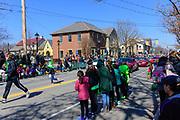 St. Patrick's Day Parade in Dublin, Ohio.