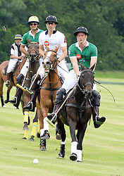 © Licensed to London News Pictures. 15/06/2014. London, UK Prince Harry; Prince William Duke of Cambridge, Maserati Jerudong Trophy Charity polo match, Cirencester Park Polo Club, 15 June 2014,. Photo credit : Mike Webster/PIQ/LNP