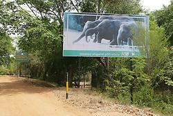 Wasgomuwa National Park Sign