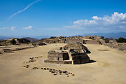 Monte Alban, also known as Danipaguache is an ancient Zaoptec site in Oaxaca, Mexico.