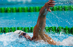 Dominik Dur of Austria competes during the Men's 400 m Individual Medley Final during Slovenia Open swimming Championship and MM Kranj 2011, on June 4, 2011 in Olympic pool, Kranj, Slovenia. (Photo By Vid Ponikvar / Sportida.com)