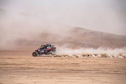 Ignacio Casale (CHL) of Casale Racing races during stage 4 of Rally Dakar 2019 from Arequipa to Tacna, Peru on January 10, 2019. // Flavien Duhamel/Red Bull Content Pool // AP-1Y3A64PED2111 // Usage for editorial use only // Please go to www.redbullcontentpool.com for further information. //