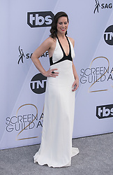 January 27, 2019 - Los Angeles, California, U.S - Miriam Shor at the red carpet of the 25th Annual Screen Actors Guild Awards held at  the Shrine Auditorium in Los Angeles, California, Sunday January 27, 2019. JAVIER  ROJAS/PI (Credit Image: © Prensa Internacional via ZUMA Wire)