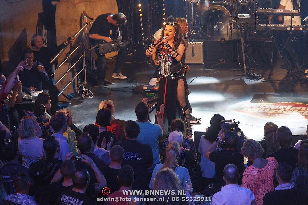 NLD/Aalsmeer/20150509 - Opname Nederland Muziekland, 2 Unlimited, Ray Slijngaard en Anita Doth