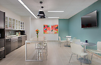 Cafe interior image of Business Suites West End offices in Nashville Tennessee by Jeffrey Sauers of Commercial Photographics, Architectural Photo Artistry in Washington DC, Virginia to Florida and PA to New England